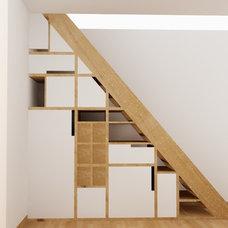 Eclectic Staircase by Victoria Rincón Peña