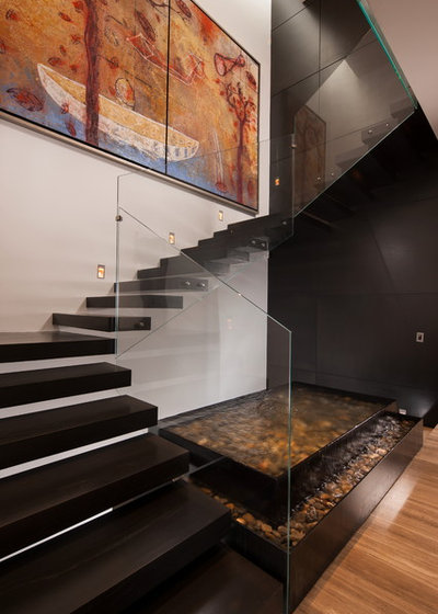 Contemporary Staircase by GLR Arquitectos / Gilberto L. Rodriguez
