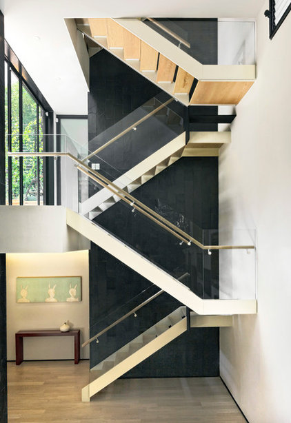 Contemporary Staircase by PAUL CREMOUX studio