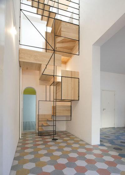 Contemporary Staircase by Francesco Librizzi Studio