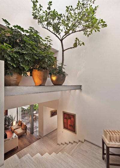 Modern Staircase by Lopez Duplan Arquitectos