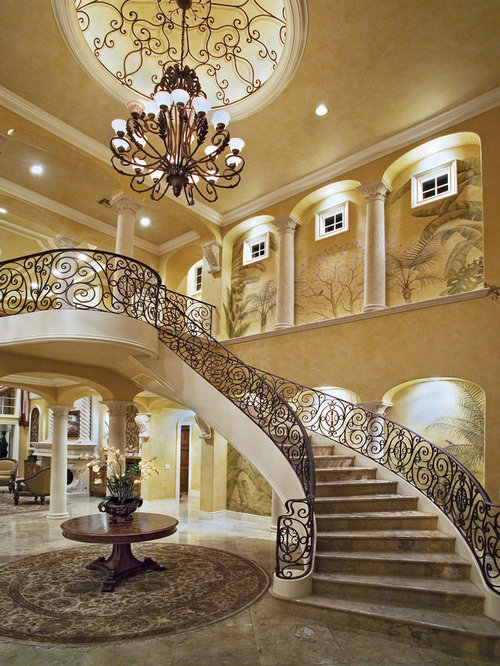 Foyer Spiral Staircase : Formal foyer houzz