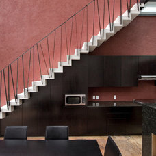 Modern Staircase by House + House Architects