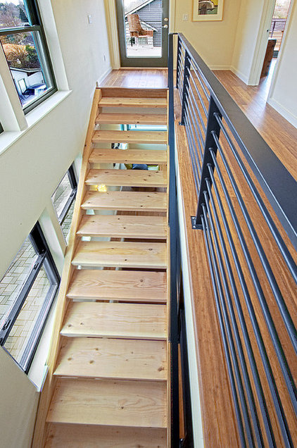 Modern Staircase by Method Homes