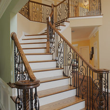 traditional staircase by Case Design/Remodeling, Inc.