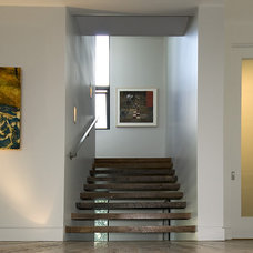 Contemporary Staircase by The Berry Group