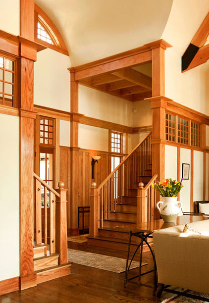 Traditional Staircase By Wayne Windham Architect P A