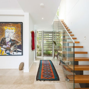 Photo of a contemporary staircase in Sydney.