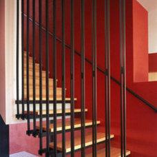 Modern Staircase castor