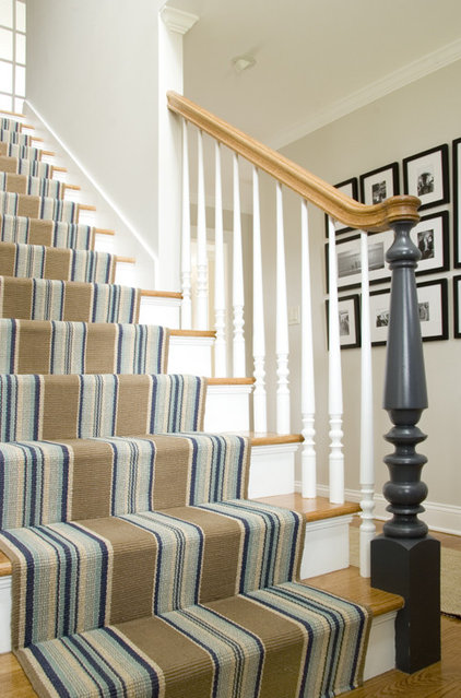 traditional staircase by Judy Cook Interiors, LLC