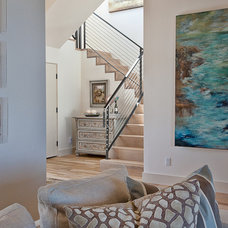 Modern Staircase by Bryant Hill Media