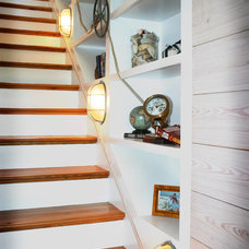 Beach Style Staircase by Catalyst Architects, LLC