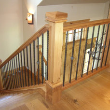 Traditional Staircase by Amaron Folkestad GC Steamboats Builder