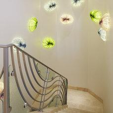 Contemporary Staircase by CDA Interior Design