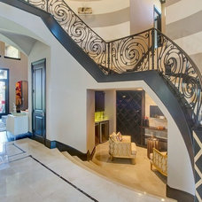 Traditional Staircase by Elaine Williamson Designs