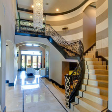 Transitional Staircase by Elaine Williamson Designs