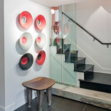 Contemporary Staircase by Steven Ginn Architects LLC