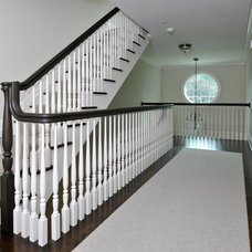 Traditional Staircase by LoParco Associates, Inc.