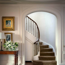 Traditional Staircase by Katie Leede