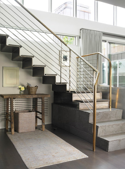 Contemporary Staircase by Foley Fiore Architecture