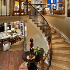 Traditional Staircase by Century Communities