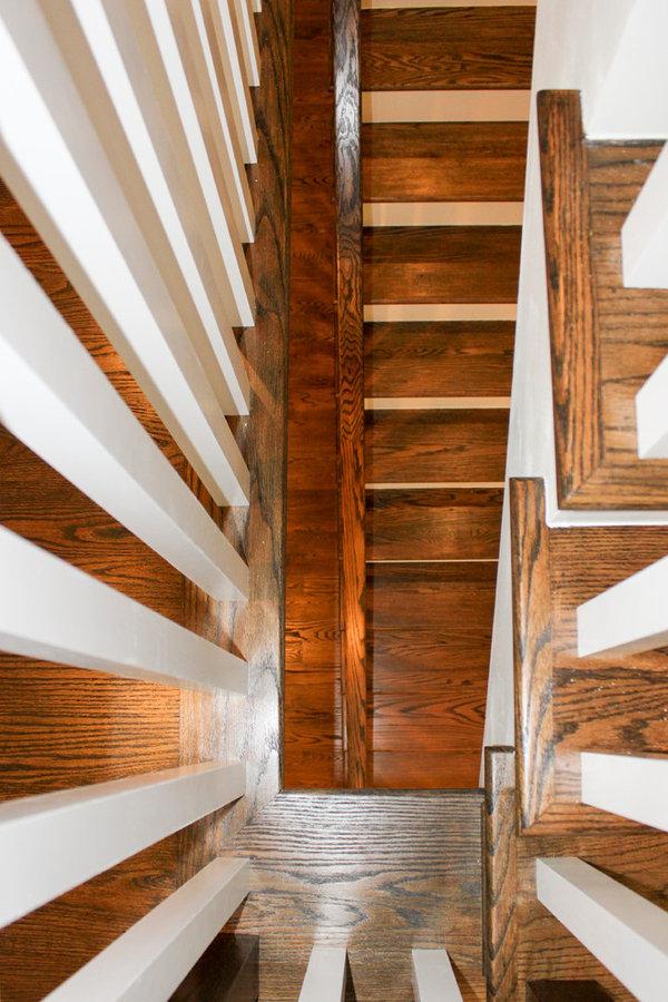Century Stair Plan/Ceiling Views