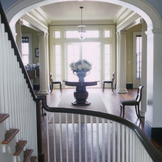 Traditional Staircase by Christine G. H. Franck, Inc.