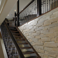 Traditional Staircase by Soleil By Design, LLC