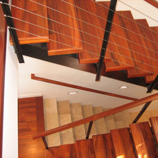 Contemporary Staircase by Daniel Moran Architect
