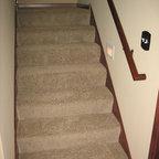 stilvolle wandverkleidungen im treppenhaus landhausstil treppen stuttgart von. Black Bedroom Furniture Sets. Home Design Ideas
