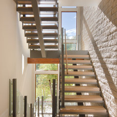 Contemporary Staircase by KGA Studio Architects
