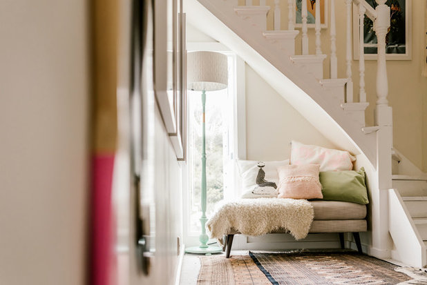 Eclectic Staircase by Bibby + Brady