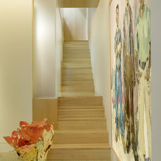 Contemporary Staircase by Charles Rose Architects Inc.