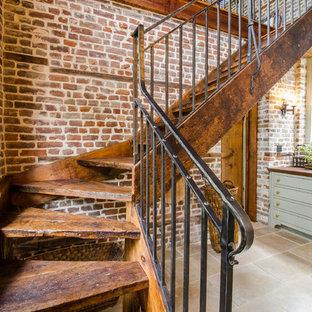Idéer för lantliga trappor