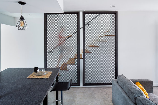 Contemporary Staircase by Davey McEathron Architecture