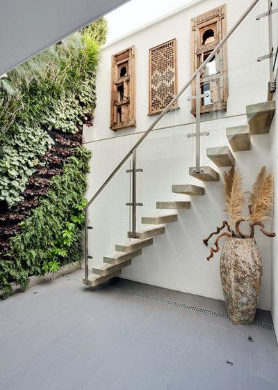 Contemporain Escalier by STEPHEN FLETCHER ARCHITECTS