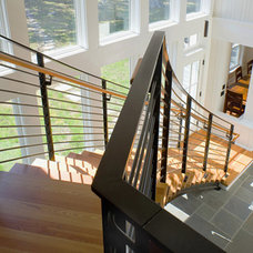 Contemporary Staircase by 3north