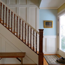 Traditional Staircase by Designing Solutions