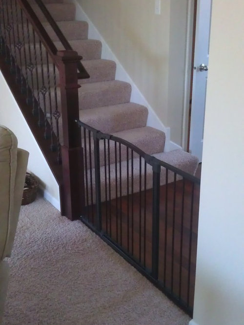 Inspiration For A Timeless Staircase Remodel In Minneapolis. Save Photo.  Foresight Childproofing ...