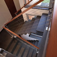 Modern Staircase by Randy Bens, Architect AIBC