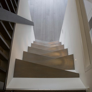 This is an example of a medium sized industrial staircase in London.