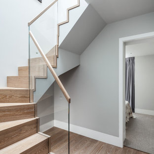 This is an example of a contemporary staircase in Other.