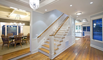 Traditional Staircase by Christian Rice Architects, Inc.
