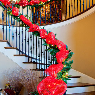 Example of a classic staircase design in Nashville