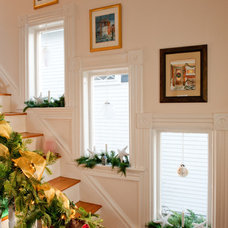 Traditional Staircase by Mary Prince Photography