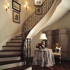 Traditional Staircase by Thompson Custom Homes