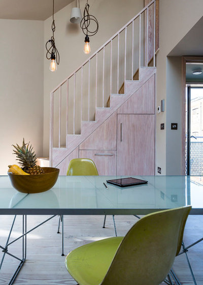 Contemporary Dining Room by Mikhail Riches