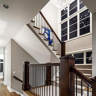 Photos et idées déco de grands escaliers Grand Rapids