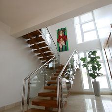 Modern Staircase by Lucienne Carlo
