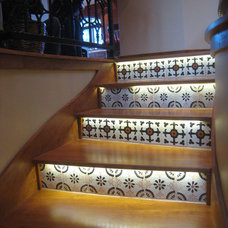 Eclectic Staircase by Gravitas, Inc.